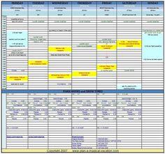 Disney trip planning sheet