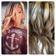 Love the highlights and lowlights! NEW HAIR DO coming soon!! Love, love, love