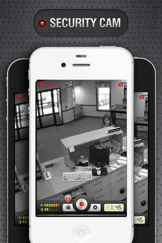 camere video de supraveghere - pe mobil
