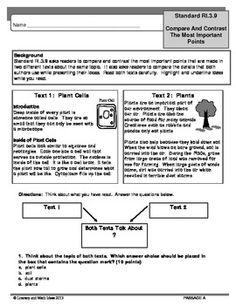 Compare contrast essay 7th grade honors