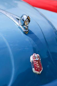 1952 Desoto Hood Ornament - Emblem