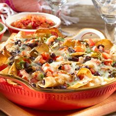 Black Bean Nachos