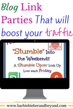 link parties to boost traffic