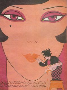 1920s,  #illustration by Chango Cabral | via http://bit.ly/ziYuMM