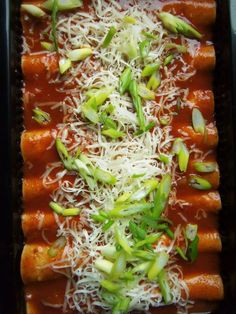 Turkey and Black Bean Enchiladas - Hispanic Kitchen