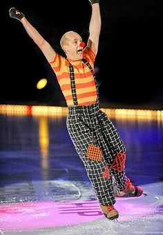 kurt browning being a clown like always.