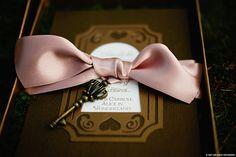 Magical Alice In Wonderland wedding invitations