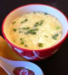 Paleo Egg Drop Soup - So Easy and Delicious!!! From paleocupboard.com