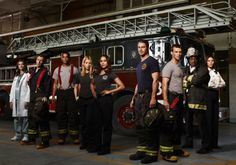 """Check out CHICAGO FIRE (NBC) When a tragedy claims one of their own, there's plenty of guilt and blame to go around. In the middle of a divorce, Lt. Matthew Casey (Jesse Spencer) tries to go about business as usual but can't help butting heads with the brash Lt. Kelly Severide (Taylor Kinney) of the Rescue Squad – and each blames the other for their fallen team member. When it's """"go-time"""" though, they put aside their differences and put everything on the line for each other."""