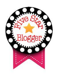 Five Star Blogger Ribbon!!!