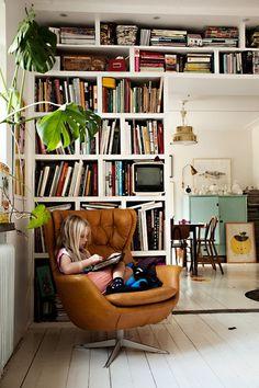wonderful quiet reading corner