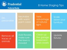 8 home staging tips