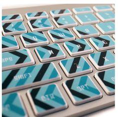 Keyboard decals -- so fun!