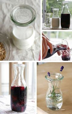 many uses for Weck juice jars