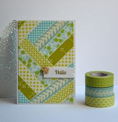 A little bit of the things I enjoy: Washi tape