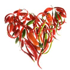 hot & spicy heart...