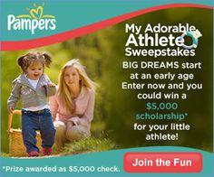 P $5,000 Scholarship Sweepstakes
