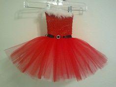 Santa+baby+Christmas+tutu+dress+by+MissGiGisBowtique+on+Etsy,+$25.00