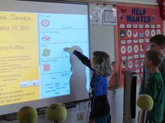 Getting SMARTer using the Interactive White Board....