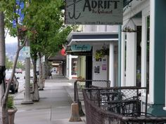 small town, favorit place, evergreen state, washington state, downtown anacort, crab cakes