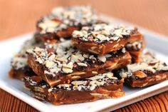 almond roca - oh lordy I made this as Christmas treats and they are to die for!!!!!!!