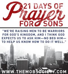 What is Prayer and Why Should We Do it? // the beginning of the 21 Days of Prayer for Sons Challenge!
