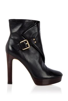 Zurie Buckle Platform Ankle Boot By Kors Michael Kors #shoes
