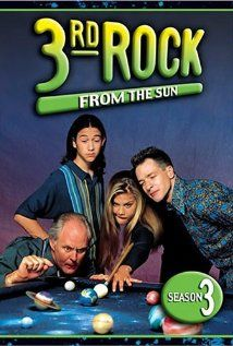 3rd Rock from the Sun (TV Series 1996–2001) 25 min  -  Comedy | Sci-Fi     8.0/10   Users: (11,451 votes) 77 reviews | Critics: 20 reviews   A group of aliens has come to Earth to learn about its population, customs, etc. To avoid detection, they have taken on human form which gives them human emotions, physical needs etc. WITHOUT the understanding of what they mean or the inhibitions normally present in humans. Their leader takes the position of a college professor, their military expert as his sister, their intelligence expert, supposedly oldest of group takes form of his teenage son. The uninhibited reactions turn everyday events into unusual situations. Written by Jim Brawn