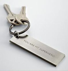 Gifts for Teens:  New Driver's Personalized Message Key Chain @ Red Envelope