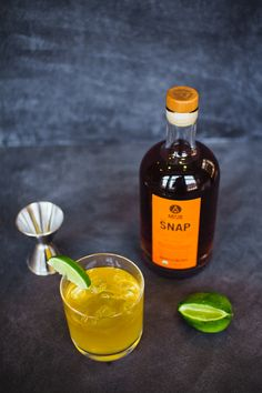 SNAP Irish Buck / Saint Patrick's Day cocktail