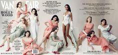 2008  From left: Emily Blunt, Amy Adams, Jessica Biel, Anne Hathaway, Alice Braga, Ellen Page, Zoë Saldana, Elizabeth Banks, Ginnifer Goodwin, and America Ferrera.