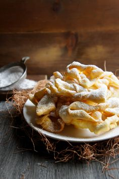 Hvorost. Russian fried pastries. Super crunchy and slightly sweet, and quick to make. @Yelena [yelenasweets]