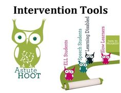 This Intervention Toolbox has everything you need to design and implement academic and behavioral interventions.