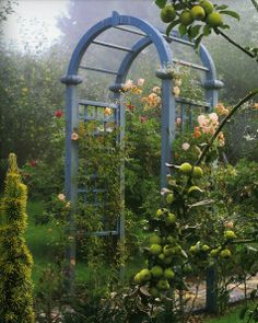 The Laskett garden, Herefordshire, created by Sir Roy Strong and his wife Julia Trevelyan Oman