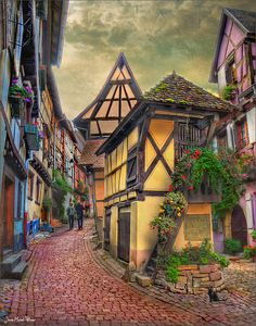 Eguisheim  in Alsace, France