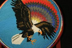 wow! This is impeccable beadwork!