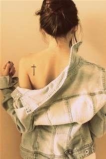 girl tattoos, back of neck tattoos for women, first tattoo, firefighter tattoos for women, back tattoos