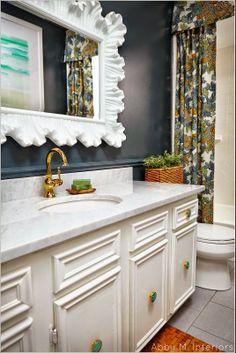 mirror, interior, bathroom