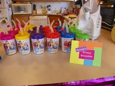 Melody's Groovy Smoothies--- Fresh Beat Band Birthday Party