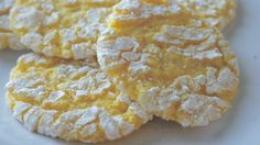 Lemon Cream Cookies - Using a cake mix and cool whip
