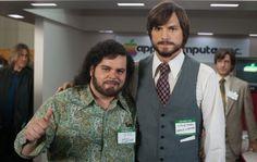 First Look: Ashton Kutcher as Steve Jobs and Josh Gad as Steve Wozniak in JOBS movie