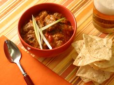 Pressure Cooker Chili from FoodNetwork.com