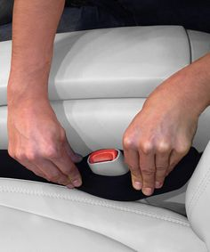 Drop Stop Car Seat Gap Filler Set - Winner of ABC's Shark Tank, the Drop Stop is designed with a liquid- and stain-resistant neoprene outer that contracts or expands to fill any gap between your seat and a car's center console. Its universal fit means it works on the driver- or passenger-side seat!