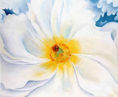 Georgia O'Keeffe. White Flower