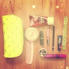What's in my makeup bag today:)