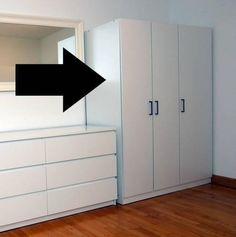 dombas wardrobe hack. Black Bedroom Furniture Sets. Home Design Ideas