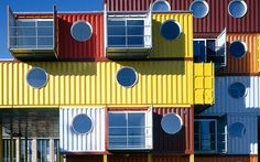 Container living - unusual homes