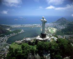 """""""Christ the Redeemer"""" statue in Rio de Janeiro, Brazil"""