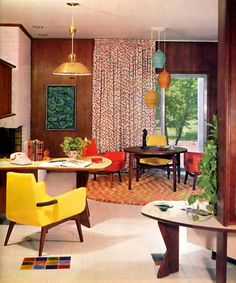 1960 Home Interior Design