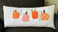 s.o.t.a.k handmade: pumpkin patch pillow